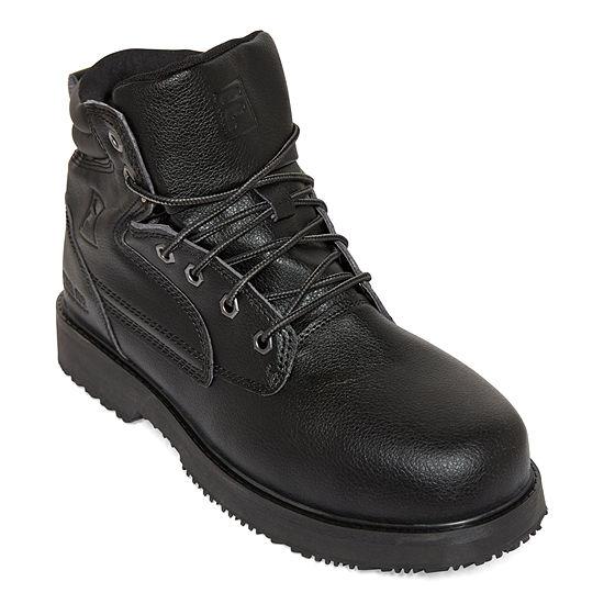 Fila Landing Steel Slip-Resistant Work Shoes Mens Training Shoes Lace-up