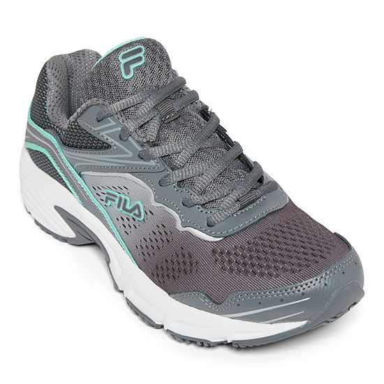 Fila Memory Runtronic Slip-Resistant Work Womens Running Shoes