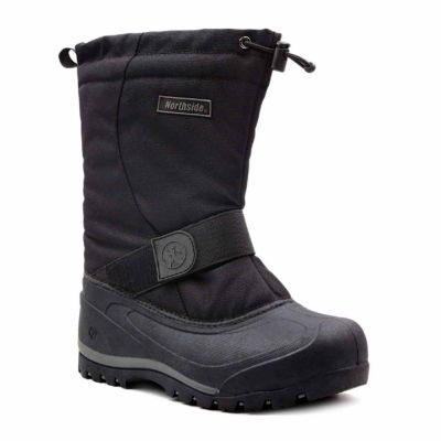 Northside Mens Alberta Ii Insulated Winter Boots Flat Heel Lace-up