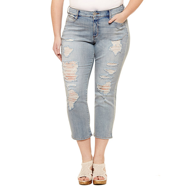 Arizona Vintage High Rise - Skinny Fit Jean-Juniors Plus