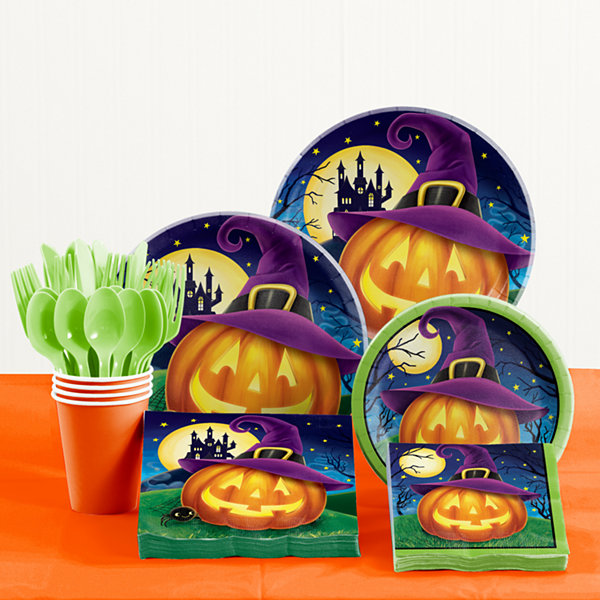 Creative Converting October Eve Halloween Party Supplies Kit