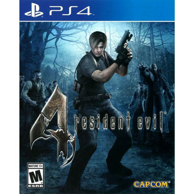 Playstation 4 Resident Evil 4 Hd Video Game