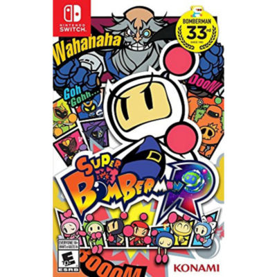 Super Bomberman R NSW Video Game
