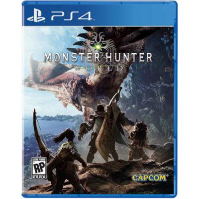 Monster Hunter World PS4 Video Game