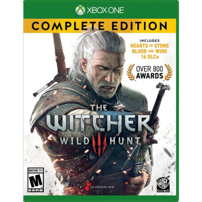 XBox One The Witcher 3: Wild Hunt - Complete Edition Video Game