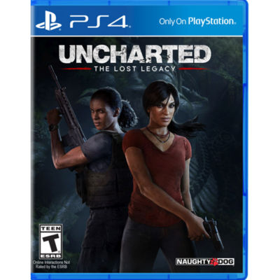 Uncharted Lost Legacy PS4 Video Game