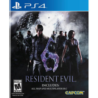 Resident Evil 6 HD  PS4 Video Game