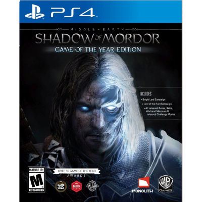 ME Shadow of Mordor GOTY PS4 Video Game