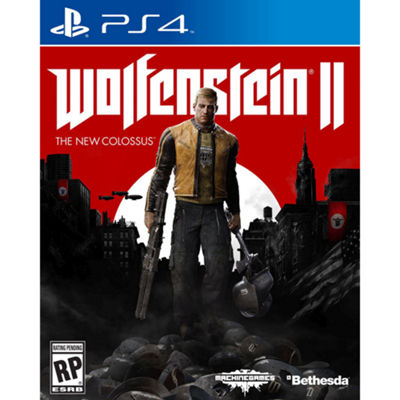 Playstation 4 Wolfenstein Ii: The New Colossus Video Game
