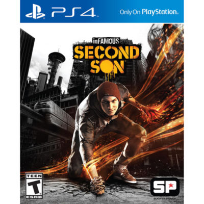 Infamous Second Son PS4 Video Game