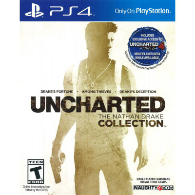 Uncharted Collection  PS4 Video Game