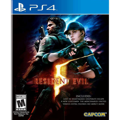 Resident Evil 5 HD  PS4 Video Game