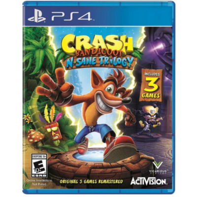 Crash N. Sane Trilogy PS4 Video Game
