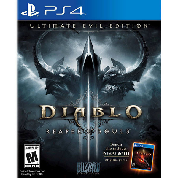 Diablo III Ultimate Evil  PS4 Video Game