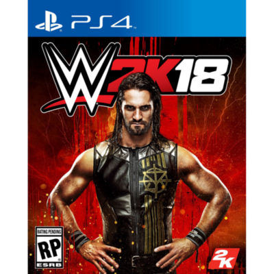 WWE 2K18 PS4 Video Game