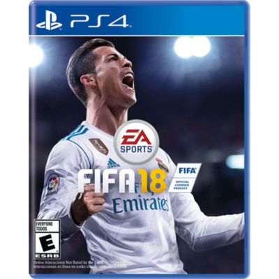 Playstation 4 Fifa 18 Video Game