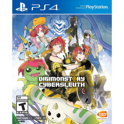 Playstation 4 Digimon Story: Cyber Sleuth Video Game