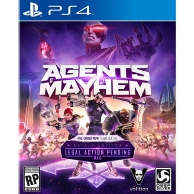 Playstation 4 Agents Of Mayhem: Day One Edition Video Game