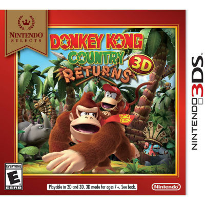 Nintendo 3DS Nintendo Selects - Donkey Kong Country Returns 3d Video Game