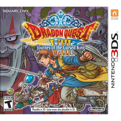 Nintendo 3DS Dragon Quest VIII: Journey Of The Cursed King Video Game