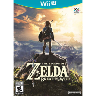 Wii U The Legend Of Zelda: Breath Of The Wild Video Game