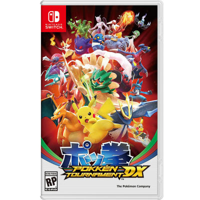 Nintendo Switch Pokkén Tournament Dx Video Game