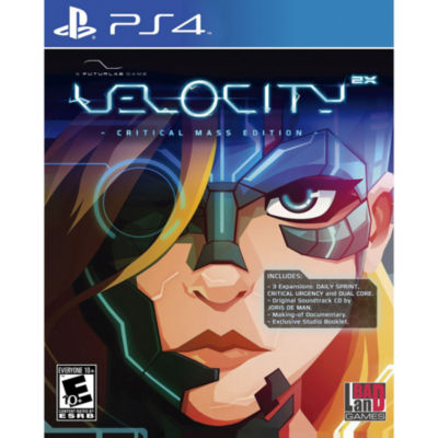 Playstation 4 Velocity 2x: Critical Mass Edition Video Game