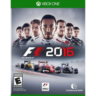 XBox One F1 2016 Video Game
