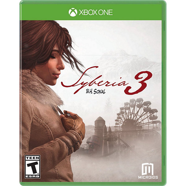 Syberia 3 XB1 Video Game