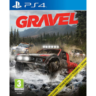 Playstation 4 Gravel Video Game