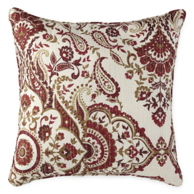 Home Expressions Eliza Square Throw Pillow