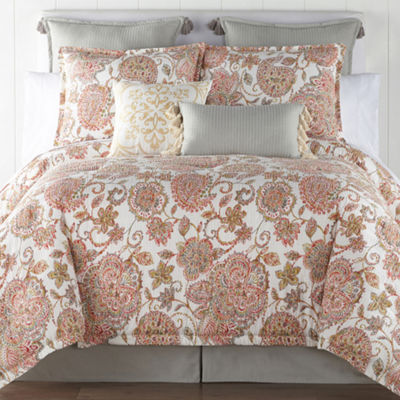 JCPenney Home Amelia 4-pc. Comforter Set & Accessories
