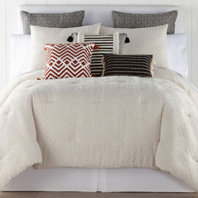 JCPenney Home Damon 3-pc. Comforter Set & Accessories