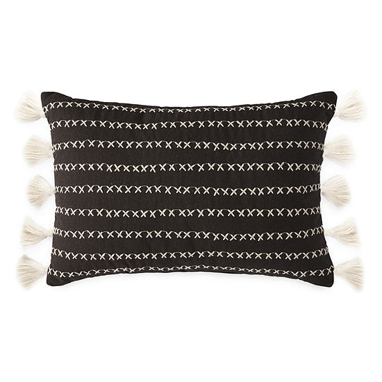 JCPenney Home Damon Rectangular Throw Pillow