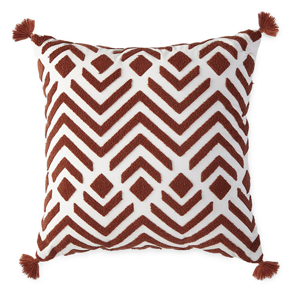 JCPenney Home Damon Square Throw Pillow