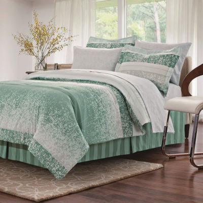 Brown & Grey Kallista Sage Complete Bedding Set