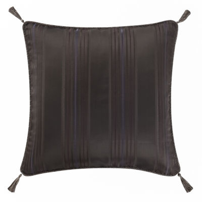 Marquis by Waterford Pierce Chocolate Decorative Euro Pillow