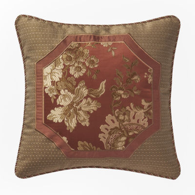 Marquis by Waterford Devlin Paprika Decorative Pillow