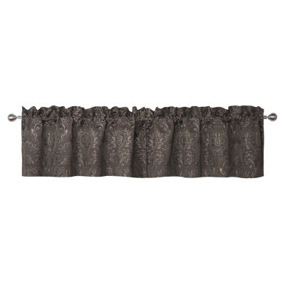 Marquis by Waterford Pierce Chocolate Window Valance