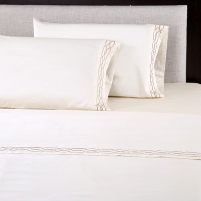 Afflluence Lattice 600tc Woven Sheet Set