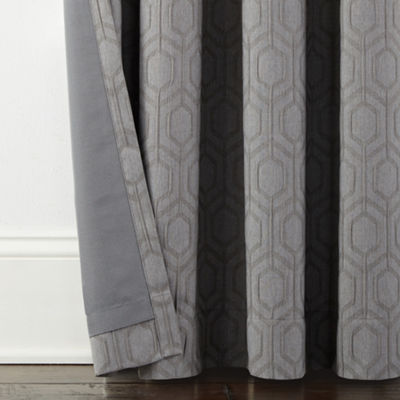 JCPenney Home Campbell Blackout Grommet-Top Curtain Panel