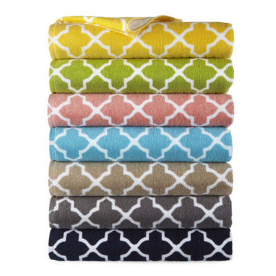 Jcpenney Home™ Lattice Bath Towels