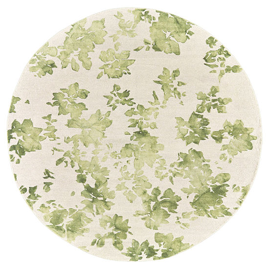 Weave And Wander Bailee Hand Tufted Round Indoor Rugs
