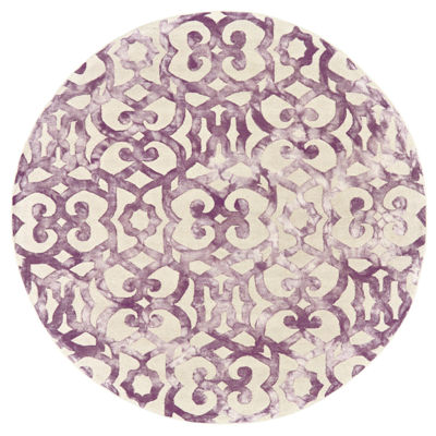 Room Envy Selwin Hand Tufted Round Indoor Area Rug
