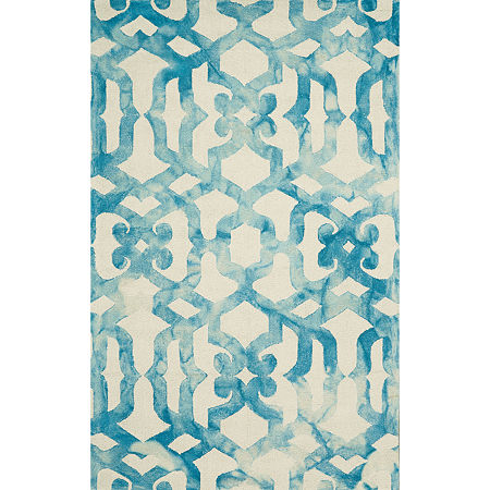 Weave And Wander Annette Hand Tufted Rectangular Indoor Rugs, One Size , Blue Product Image