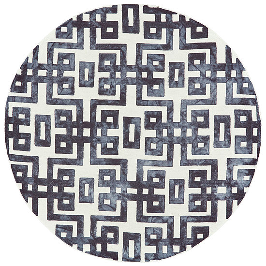 Weave And Wander Harran Hand Tufted Round Indoor Rugs