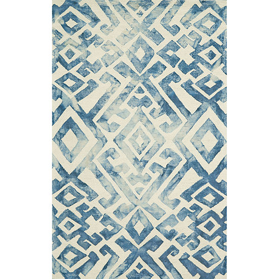 Weave And Wander Denby Hand Tufted Rectangular Indoor Rugs