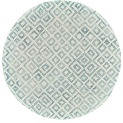 Room Envy Mia Hand Tufted Round Rugs