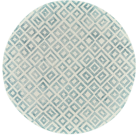 Weave And Wander Mia Hand Tufted Round Indoor Rugs