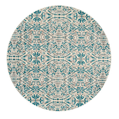 Room Envy Franchesa Round Rugs
